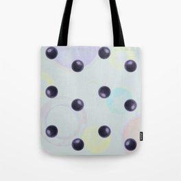 Plums Pattern Tote Bag