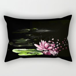 Exploding waterlily Rectangular Pillow
