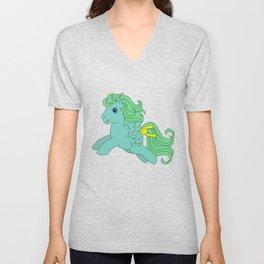 g1 my little pony Medley Unisex V-Neck
