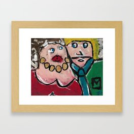 """Love or Affair?"" Framed Art Print"