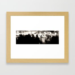 moroccan night Framed Art Print