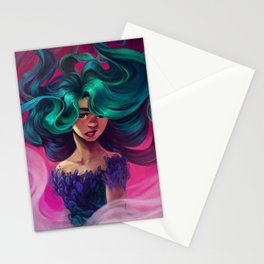 Underwater Motion Stationery Cards