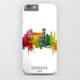 Granada Spain Skyline iPhone Case