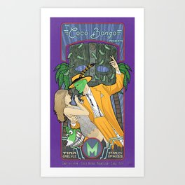 The Mask - Jim Carrey Film Art Print