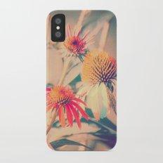 Summer Cone Flowers Echinacea Scenic Botanical Slim Case iPhone X