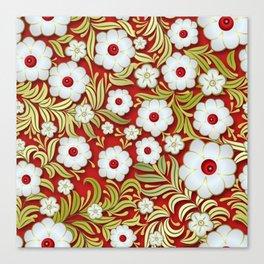 Art Flowers V3 Canvas Print