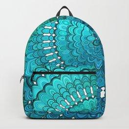 Turquoise Mandala Backpack