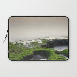 """Green, white and red beach"" Laptop Sleeve"
