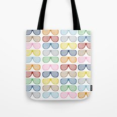 Rainbow Shades Tote Bag