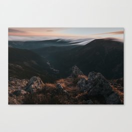 Evening Mood - Landscape and Nature Photography Canvas Print