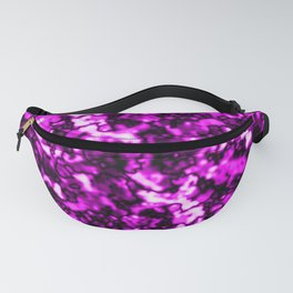 A bright cluster of pink bodies on a dark background. Fanny Pack