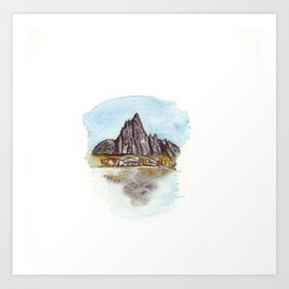 The Enchantments Art Print