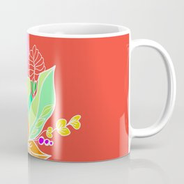 Tropical flowers Coffee Mug