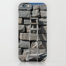 Wooden Ladder and Stone Wall iPhone 6s Slim Case