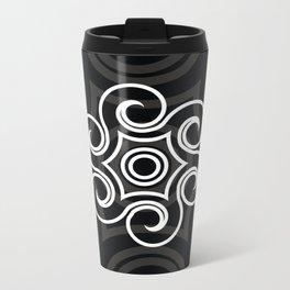Dony Tattoo (Black) Metal Travel Mug