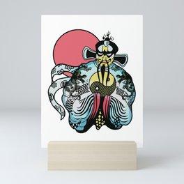 Jack Burton's Chinese Shirt Artwork, Films Posters, Prints, Tshirts, Bags, Men, Woman, Kids Mini Art Print