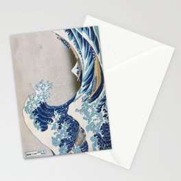 Under the Wave off Kanagawa Japanese Art Stationery Cards