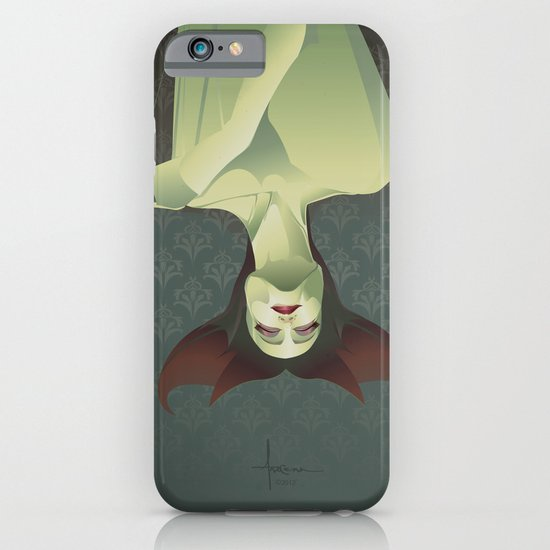 SLEEPING BANSHEE iPhone & iPod Case