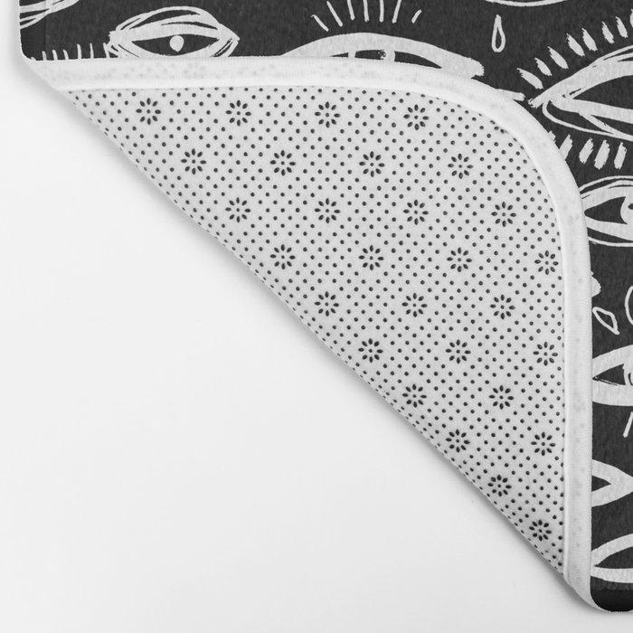 The Third Eye Black Bath Mat