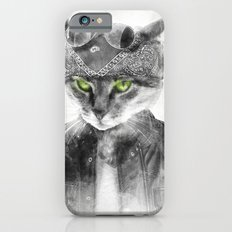 Biker Cat iPhone 6s Slim Case