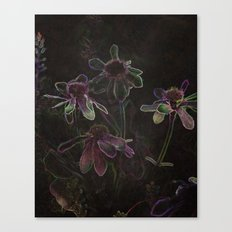 Flowers and Tea Canvas Print