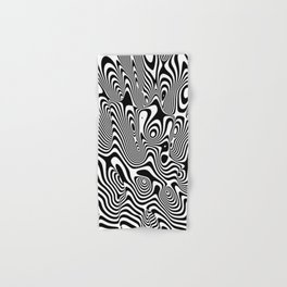 Trippy Background Hand & Bath Towel