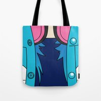 dmmd Tote Bags featuring Aoba Seragaki Outfit DMMD by Bunny Frost