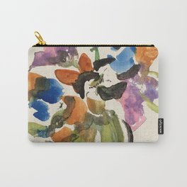 Green Vase Fall Colors Carry-All Pouch