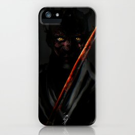Katana Maul iPhone Case
