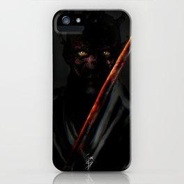Katana Maul iPhone Case