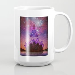Amethyst Crystal Mountain Coffee Mug