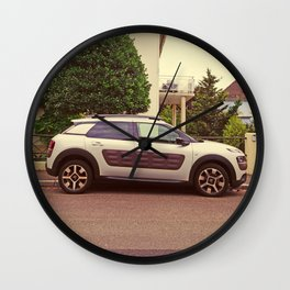 "Citroen C4 Cactus ""White Predator"" Wall Clock"