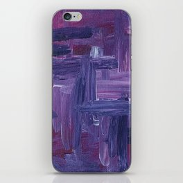 Violet Wow iPhone Skin