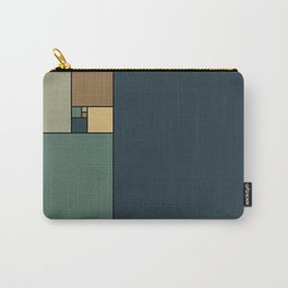 Golden Ratio Squares Carry-All Pouch