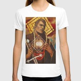 Alistair Theirin Cancer Zodiac Card Dragon Age T-shirt