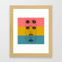 Pretty Fright 1 Framed Art Print