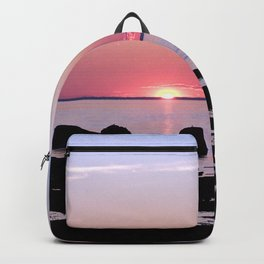 Coastal sunset Backpack