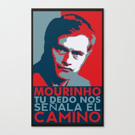 Mourinho Spain T-Shirt Canvas Print