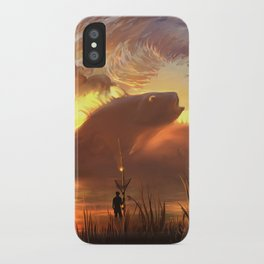 a world ruled by nature iPhone Case