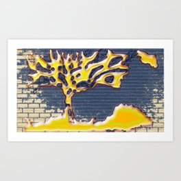 Bonsai Tree of Life Art Print