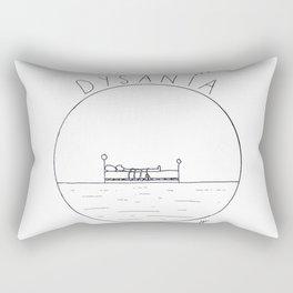 The simple pleasure of sleeping Rectangular Pillow