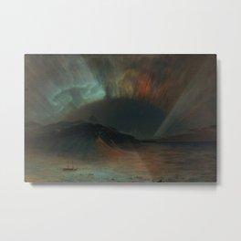 Frederic Edwin Church - Aurora Borealis Metal Print