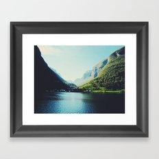 Mountains XII Framed Art Print