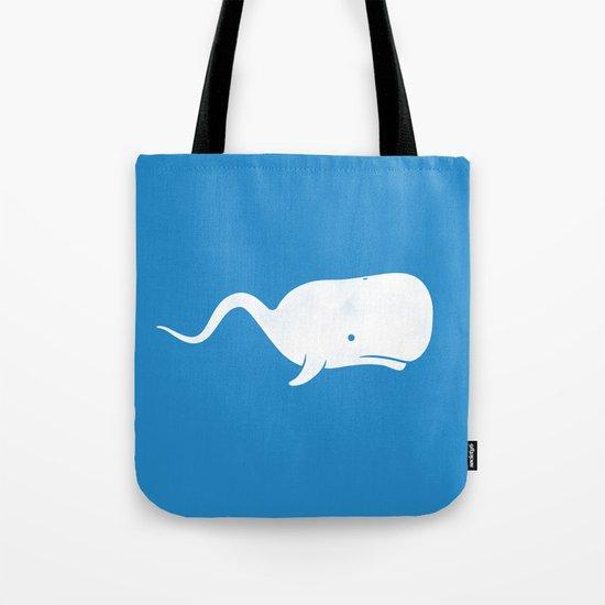 Sperm whale Tote Bag