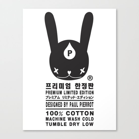 RABBIT PREMIUM LIMITED EDITION Canvas Print
