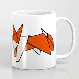 Origami Fox Coffee Mug