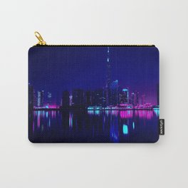 Cyberpunk Miami Carry-All Pouch