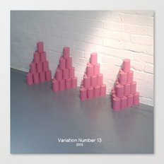 Variation Number 13 (photo) Canvas Print