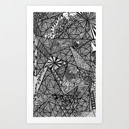 Germ Control Art Print