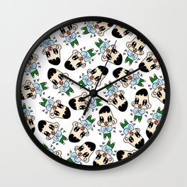 Clapping child Wall Clock